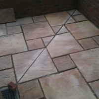 Sundry Corners Patio Slabs